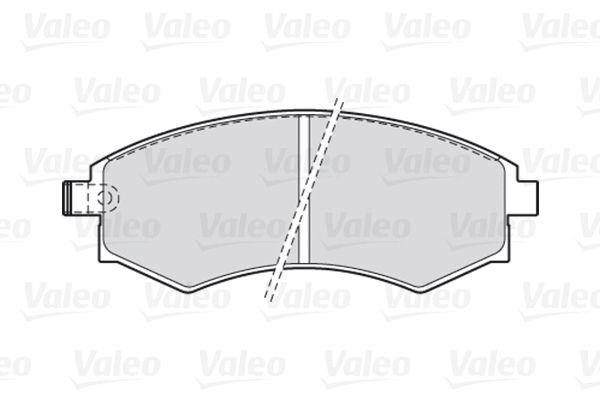 Disk brake pads VALEO 301574 rating