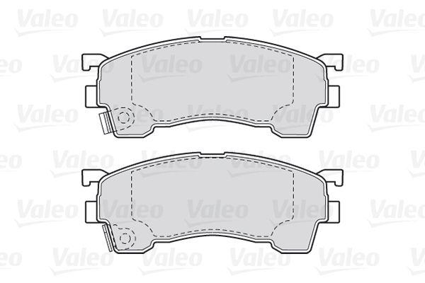Disk brake pads VALEO 301629 rating