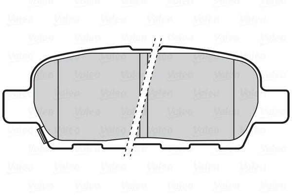 Bremsbelagsatz VALEO 301672 Bewertung