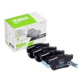 2001 Honda Civic Mk7 2.0 Type-R Brake Pad Set, disc brake 301682