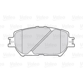 Bremsbelagsatz, Scheibenbremse Breite 1: 131,65mm, Höhe 1: 58,4mm, Dicke/Stärke 1: 17,4mm mit OEM-Nummer 04465 33 320