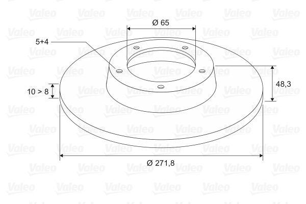 Scheibenbremsen VALEO 197544 Bewertung