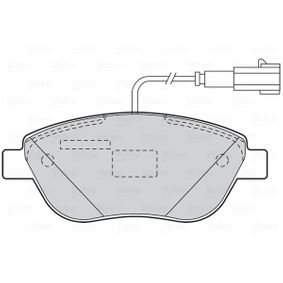 Bremsbelagsatz, Scheibenbremse Breite 1: 137,1mm, Höhe 1: 57,5mm, Dicke/Stärke 1: 19mm mit OEM-Nummer 77365379