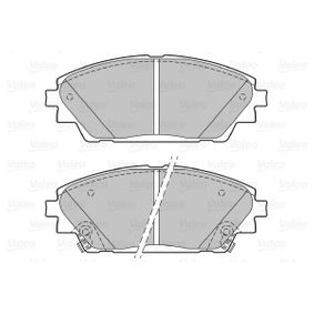 Brake Pad Set, disc brake Width: 142mm, Height: 55,7mm, Thickness: 15,8mm with OEM Number BHY1-33-28ZA 9C
