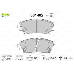 Brake Pad Set, disc brake Article № 601402 £ 140,00