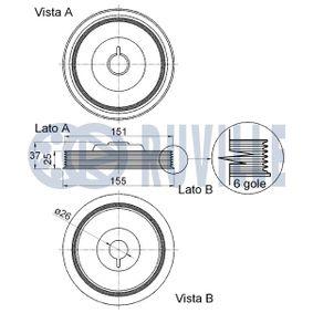 Entretoise / tige, stabilisateur Longueur: 306,0mm avec OEM numéro 2043203789