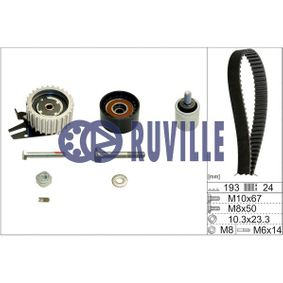 Timing Belt Set Width: 24,50mm with OEM Number 636 317