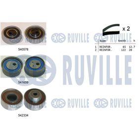 Kit cinghia distribuzione, pompa acqua 56368701 GOLF 6 (5K1) 2.0 GTi ac 2012