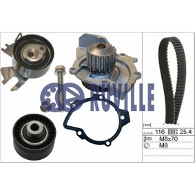 Water pump and timing belt kit with OEM Number 1 855 735