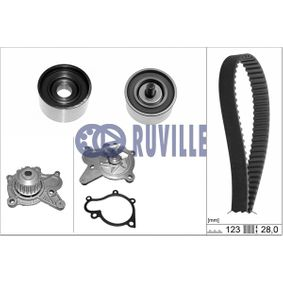 Water pump and timing belt kit with OEM Number 2481027200