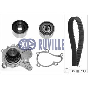 Water pump and timing belt kit with OEM Number 24810-27200