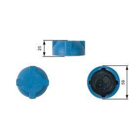 GATES Verschlußdeckel, Kühlmittelbehälter RC203 für AUDI 80 (8C, B4) 2.8 quattro ab Baujahr 09.1991, 174 PS