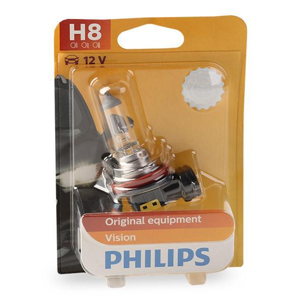 Bulb, spotlight 12360B1 PHILIPS H8 original quality