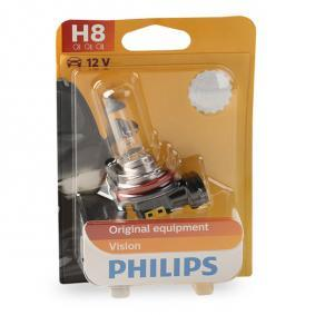Bulb, spotlight H8, 35W, 12V 12360B1 BMW 3 Series, 5 Series, 1 Series
