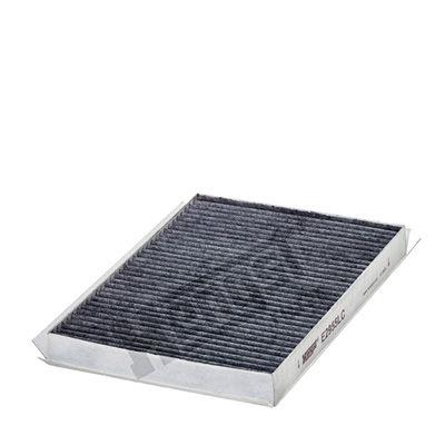 HENGST FILTER  E2955LC Filter, Innenraumluft Länge: 264mm, Breite: 190mm, Höhe: 28mm
