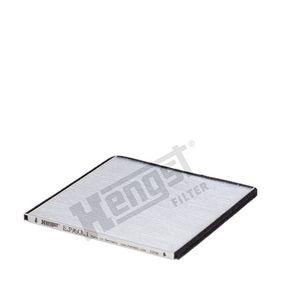 Filter, Innenraumluft Länge: 201mm, Breite: 204mm, Höhe: 10mm mit OEM-Nummer 9642-5700