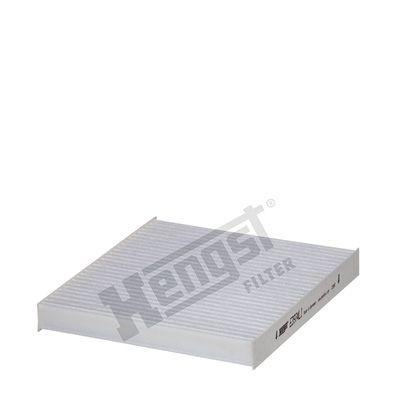 HENGST FILTER  E3974LI Filter, Innenraumluft Länge: 215mm, Breite: 193mm, Höhe: 25mm