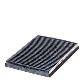 Filter, Innenraumluft Länge: 218mm, Breite: 163mm, Höhe: 26mm mit OEM-Nummer 46 770 834