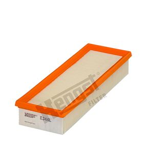 Luftfilter Länge: 297mm, Breite: 102mm, Höhe: 49mm, Länge: 297mm mit OEM-Nummer 7701042841