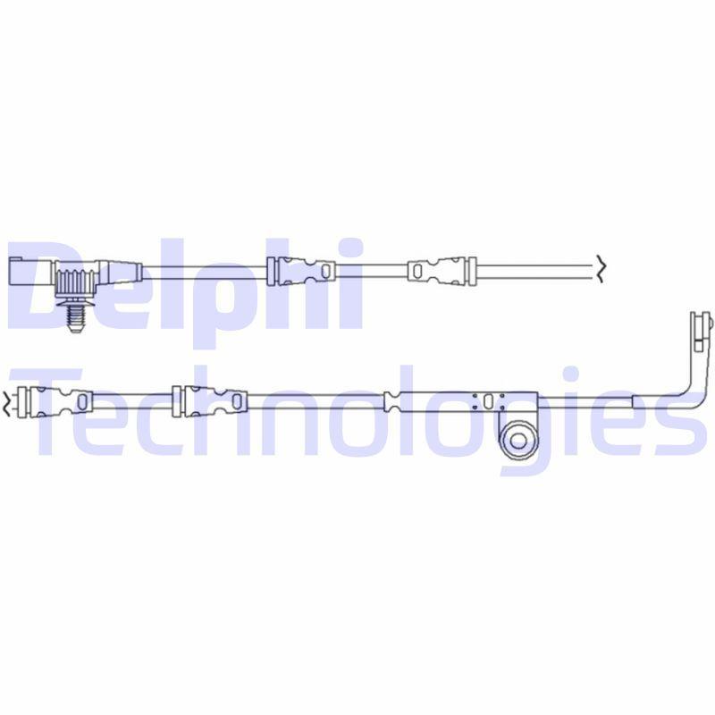 DELPHI  LZ0194 Warnkontaktsatz, Bremsbelagverschleiß
