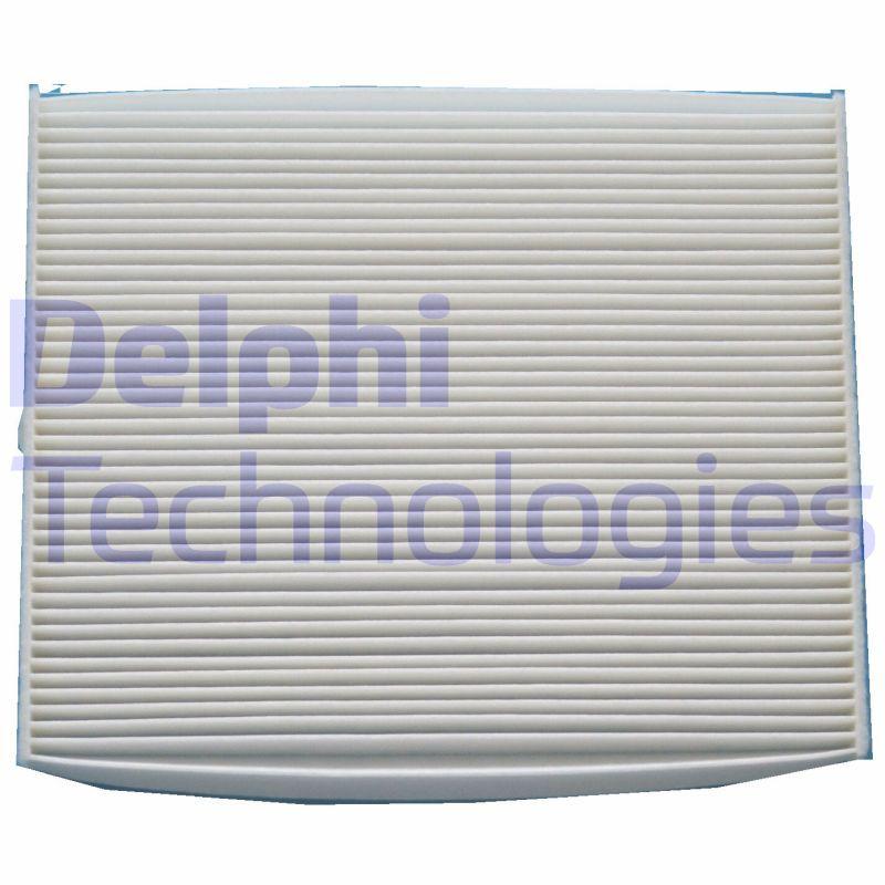 DELPHI  TSP0325205C Filter, Innenraumluft Länge: 217mm, Breite: 264mm, Höhe: 20mm