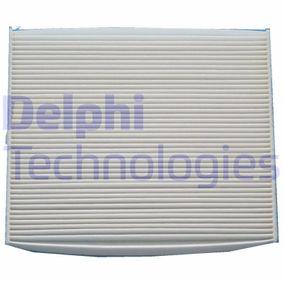 Filter, Innenraumluft Länge: 217mm, Breite: 264mm, Höhe: 20mm mit OEM-Nummer 55 702 468