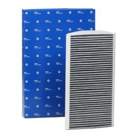 Filter, Innenraumluft Länge: 330mm, Breite: 162mm, Höhe: 30mm mit OEM-Nummer 51805219