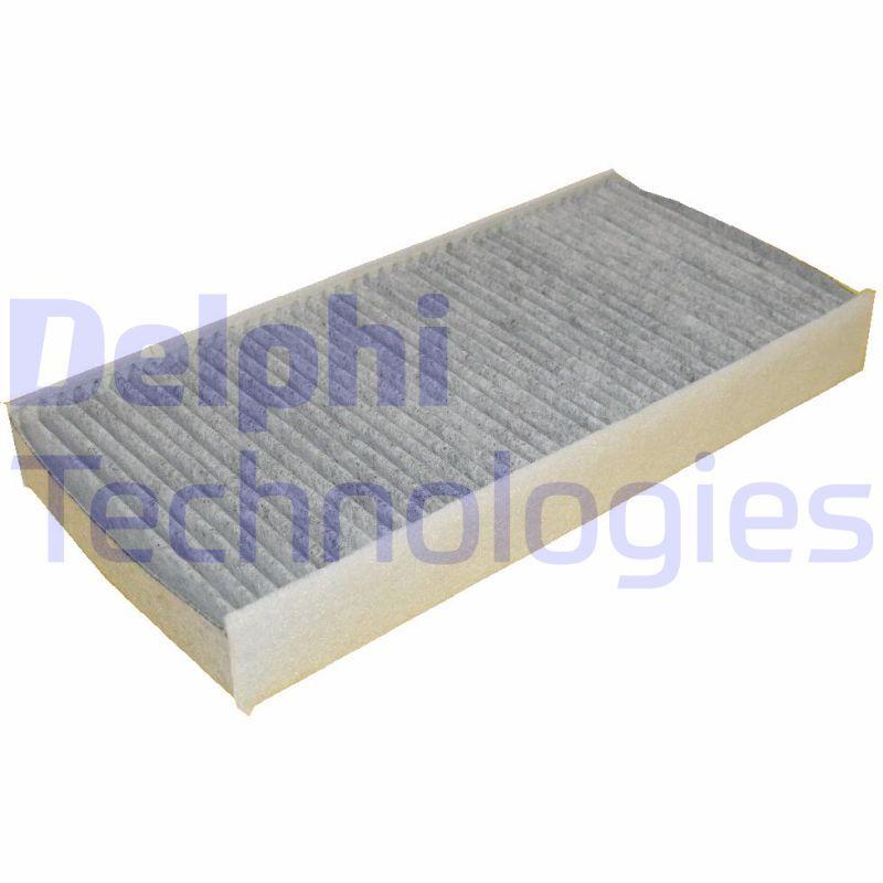 DELPHI  TSP0325183C Filter, Innenraumluft Länge: 315mm, Breite: 152mm, Höhe: 40mm