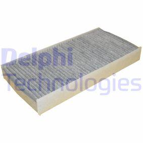 Filter, Innenraumluft Länge: 315mm, Breite: 152mm, Höhe: 40mm mit OEM-Nummer 6441 EJ