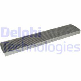 Filter, Innenraumluft Länge: 534mm, Breite: 111mm, Höhe: 25mm mit OEM-Nummer 1491 752