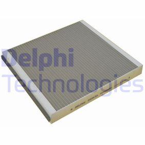 Filter, Innenraumluft Länge: 256mm, Breite: 231mm, Höhe: 30mm mit OEM-Nummer 9 552 8290