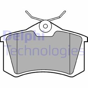 DELPHI Bromsbeläggssats, skivbroms LP2254 med OEM Koder 440600295R