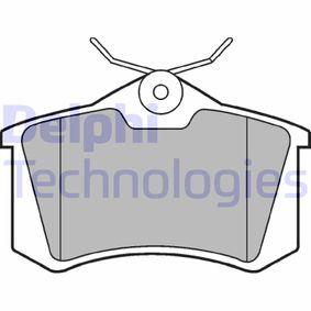 Bremsbelagsatz, Scheibenbremse Höhe: 53mm, Dicke/Stärke 2: 17mm mit OEM-Nummer 77012-09841