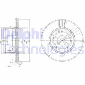 Bremsscheibe Bremsscheibendicke: 25mm, Lochanzahl: 5, Ø: 288mm mit OEM-Nummer A 210 421 24 12 64