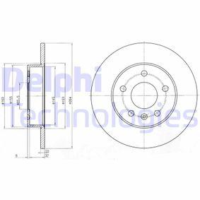 Bremsscheibe Bremsscheibendicke: 10mm, Lochanzahl: 5, Ø: 264mm mit OEM-Nummer 917772