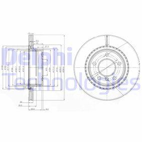 Bremsscheibe Bremsscheibendicke: 20mm, Lochanzahl: 5, Ø: 299,8mm mit OEM-Nummer 3421 6 764 651
