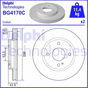Brake Disc Brake Disc Thickness: 23mm, Ø: 258mm with OEM Number 8V511125AC