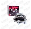 STARK Kit cuscinetto ruota SKWB-0180554 per NISSAN QASHQAI / QASHQAI +2 (J10, JJ10) 1.5 dCi