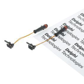 Warnkontaktsatz, Bremsbelagverschleiß mit OEM-Nummer 169 540 16 17