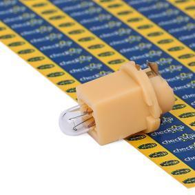 Bulb, instrument lighting B2,4W, EBS R4, 1,2W, 24V 002051500000