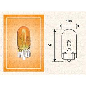Крушка с нагреваема жичка, задни светлини W21W, W3x16d, 12волт, 21ват 002052200000