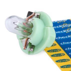 Bulb, instrument lighting B2,4W, BX8,4d, 2W, 12V 002053100000
