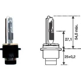 izzó, távfényszóró D2R (gázkisüléses fényszóró), 35W, 85V 002542100000