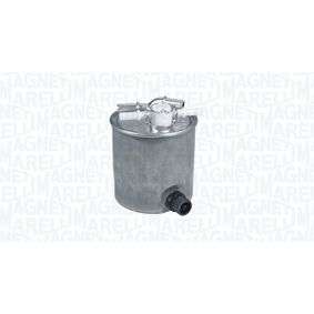 Fuel filter Height: 120mm with OEM Number 16 40 0JY 09D