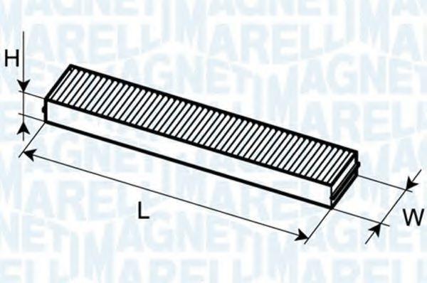 MAGNETI MARELLI  350203064470 Filter, Innenraumluft