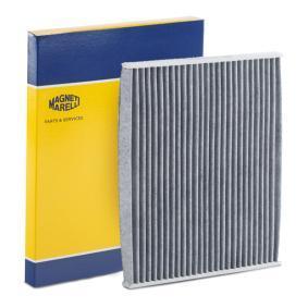 Filter, Innenraumluft Länge: 219mm, Breite: 266mm, Höhe: 20mm mit OEM-Nummer 1 808 012
