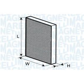 Filter, Innenraumluft mit OEM-Nummer K05058381AA