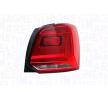 Rückleuchte VW Polo Schrägheck (6R1, 6C1) 2020 Baujahr LLL192 MAGNETI MARELLI links, mit Lampenträger, W16W, PY21W, H21W, P21W, mit Glühlampen