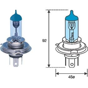 Glühlampe, Fernscheinwerfer H4, 60/55W, 12V 002602100000