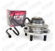 STARK Wheel hub SSANGYONG Front Axle, Left, Right